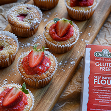 Sugar Free Strawberry Friands