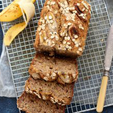 Easy Apple and Banana Loaf