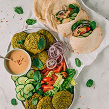 Green Falafel Patties