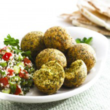 Falafel Fattoush Salad