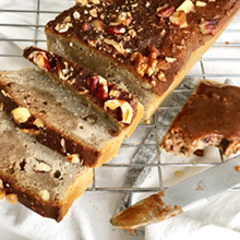 Coffee-Caramel Banana Bread