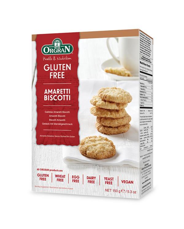Orgran Amaretti Biscotti