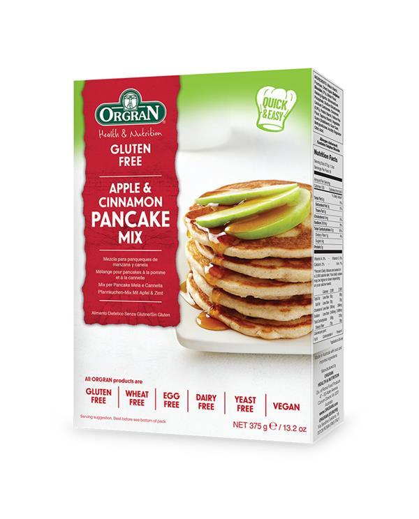 Orgran Apple and Cinnamon Pancake Mix