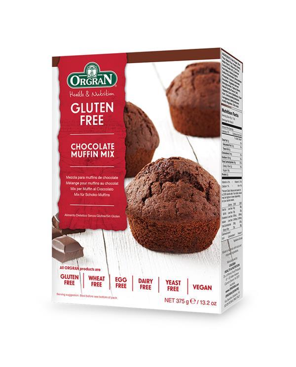 Orgran Chocolate Muffin Mix