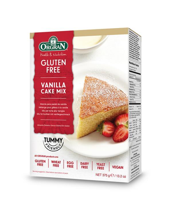 Orgran Vanilla Cake Mix