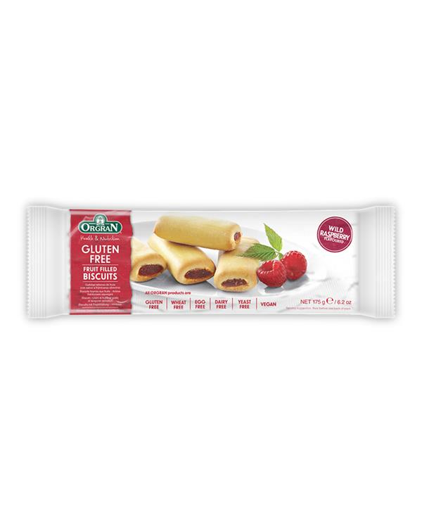 Orgran Wild Raspberry Fruit Filled Biscuits