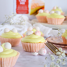 Vanilla Easter Cupcakes